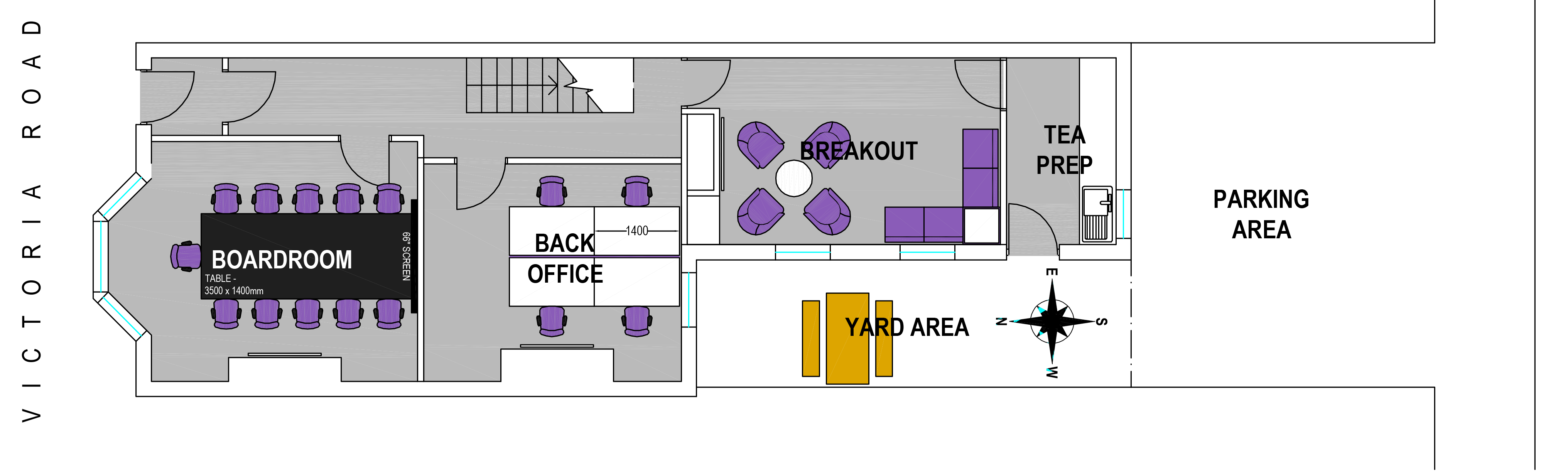 Floorplan image of Quality Suite Meeting Venue in Darlington DL1